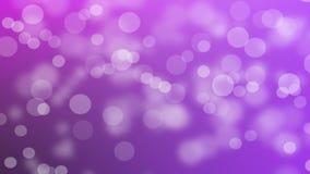 在紫色背景的光 库存照片