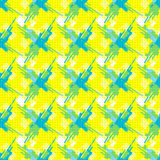 在黄色背景的抽象几何对象 图库摄影