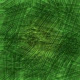 在绿色背景的铅笔冲程 栅格和任意冲程 向量例证