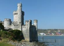 在1857年英国的伊丽莎白修造的Blackrock城堡1 城堡被修造了作为在河李的设防作为protecti 免版税图库摄影