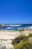 在17英里的海滩推进 库存图片
