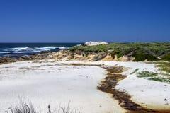 在17英里的海滩推进 免版税库存图片