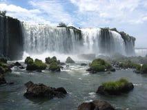伊瓜苏瀑布,巴西,南美洲 库存照片