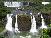 伊瓜苏瀑布,巴西,南美洲 免版税库存照片