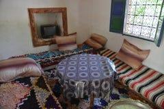 在巴巴里人房子摩洛哥内 图库摄影