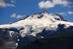 在巴里洛切,阿根廷附近的登上特罗纳多峰 库存图片