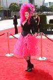 在2011黄金时间的创造性的艺术Emmy奖的Vyxsin,诺基亚剧院L.A. Live,洛杉矶, CA. 09-10-11 库存图片