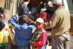 在医院的到来在伊林加在坦桑尼亚-非洲- 029 免版税库存图片