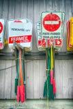 在滑雪胜地的夏时 免版税库存照片