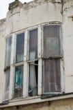 在暴风的窗口 免版税图库摄影