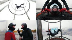 4在1 -飞行动力学的管 飞行在管经验 影视素材