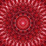 在黑,红色和白色颜色-方形的背景的抽象坛场 库存照片