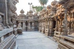 在685-705AD期间, Kailasanathar寺庙古庙和被兴建 免版税图库摄影
