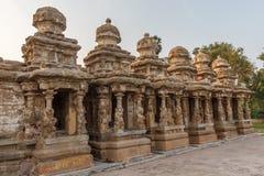 在685-705AD期间, Kailasanathar寺庙古庙和被兴建 库存图片