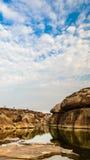 在3000bok的岩石 库存图片