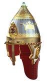 在3D的历史大马士革盔甲 免版税库存照片