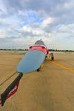 在100th年的脑活动的飞行表演 免版税库存图片