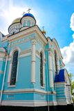 在1912年以纪念保佑的圣母玛丽亚的做法的寺庙在小雅罗斯拉夫韦茨 库存图片