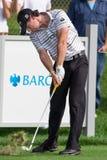 在2012年Barclays的Rory McIlroy 免版税库存图片