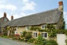 在Abbotsbury的村庄 免版税库存图片