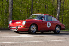 1965年在ADAC符腾堡历史的Rallye的保时捷912 2013年 库存图片