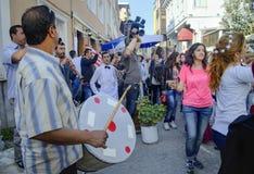 在Ahirkapi节日的Hidrellez 免版税库存图片