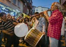 在Ahirkapi节日的Hidrellez 免版税图库摄影