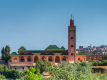 在Al Harouz附近的清真寺 免版税图库摄影