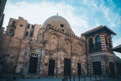 在Al Moez街道的Mouseq 免版税库存照片
