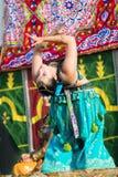 在Al mossassa的庆祝的Bellydancer 库存图片