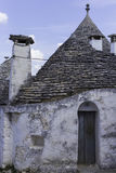 在alberobello的Trulli 图库摄影