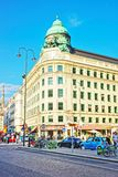 在Albertinaplatz的旅游ifo中心在维也纳 图库摄影