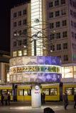 在Alexanderplatz的世界时钟 免版税图库摄影