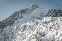 在Alpspitz的完善的看法 图库摄影
