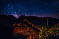 在Alvaneu的Milkyway 图库摄影