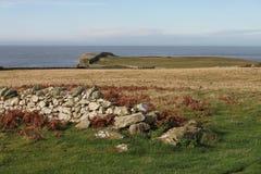 在Anglesey的风景 免版税库存图片