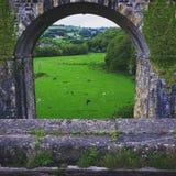 在aquaduct下 免版税库存图片