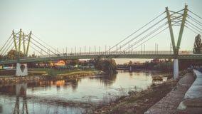 在Arad的桥梁 免版税库存图片