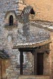 在Assisi的中世纪角落 库存图片