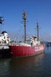 在Astoria的灯塔船哥伦比亚 库存照片