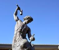 在ASU Midsouth,西部孟菲斯,阿肯色的罗马雕象 库存照片