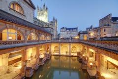 在Avon英国的罗马浴 免版税库存图片
