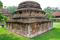 在ayudhya的Stupa 库存照片