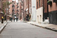 在backstreet的无目的青年时期 库存图片