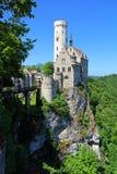 在Baden-WÃ ¼ rttemberg的利希滕斯泰因城堡 免版税库存图片