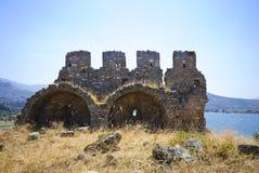 在bafa湖附近的古色古香的穹顶 库存图片