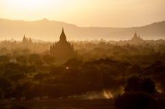 Bagan,缅甸 库存图片