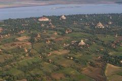 在Bagan寺庙  免版税库存图片