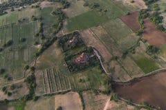 在Bagan寺庙  库存图片