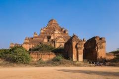 在Bagan,缅甸的寺庙 库存照片